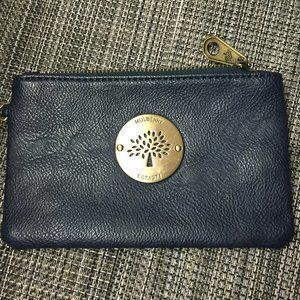 Mulberry small pouch/wristlet